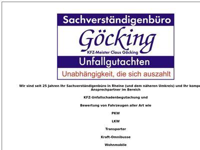Göcking KFZ-Sachverständiger