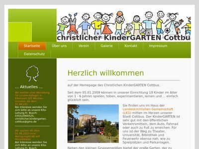 Christlicher Kindergarten Cottbus