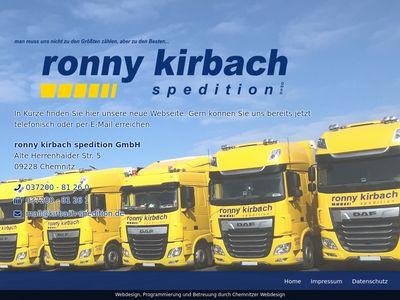Ronny kirbach spedition GmbH