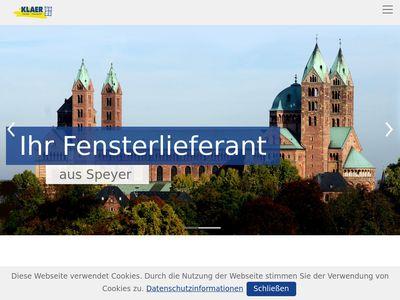 Klaer Fensterbau GmbH & Co. KG