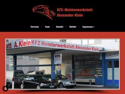 KFZ-Meisterwerkstatt Alexander Klein