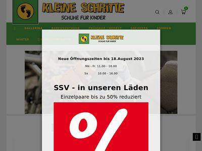 Kleine Schritte - Schuhe für Kinder