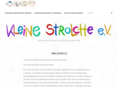 """Kindergarten """"Kleine Strolche e.V."""