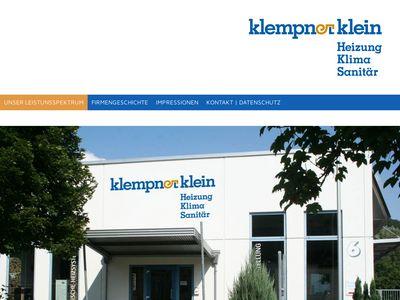 Klempner Klein Heizung-Klima-Sanitär GmbH