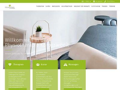 Körperarbeit Physiotherapie