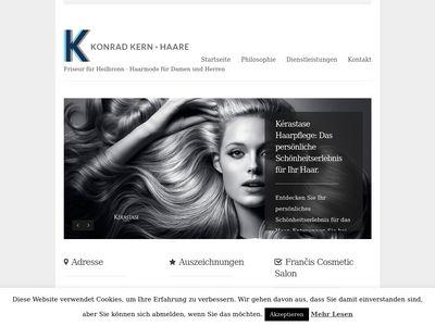 Konrad Kern · Haare