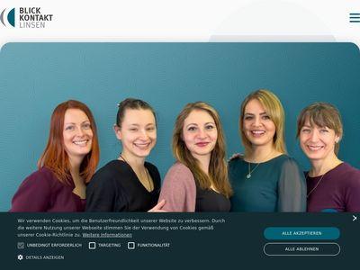 Blickkontakt Kontaktlinsen