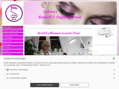 Sabrinas Kosmetik & Fusspflege Praxis