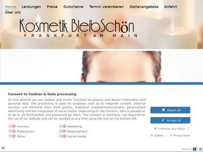 Kosmetikstudio BleibSchön