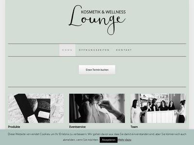 Kosmetik & Wellness Lounge