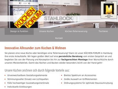 Stahlbock Joachim KÜCHEN-FORUM