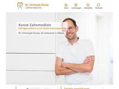 Dr.med.dent. Hans-Jochen Kunze Zahnarzt