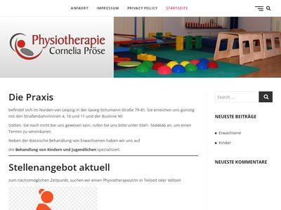 Leipzig Physiotherapie Pröse