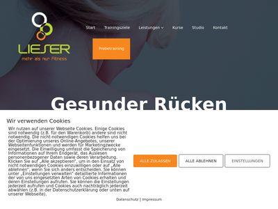 Lieser Frank Fitnessstudio