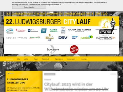 Ludwigsburger Citylauf