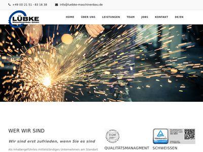 Lübke - Maschinenbau GmbH