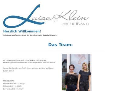 Luisa Klein - Hair + Beauty