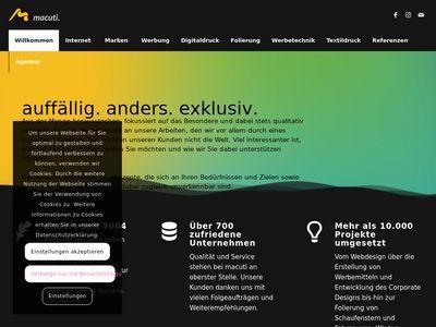Macuti. Internet & Marketing Agenturen