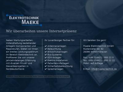 Elektro Maeke GmbH
