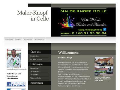 Maler Knopf - Celle