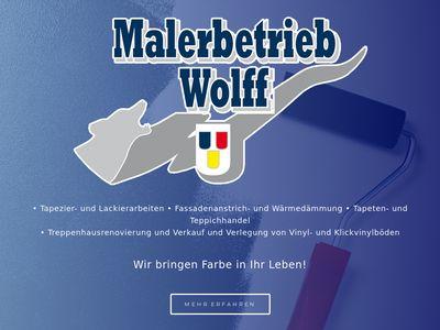 Wolff Winfried Malerbetrieb