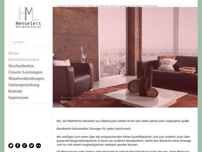Henseleit Maler und Lackierer GmbH