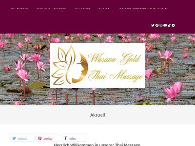 Wasanas Wellness Oase Thai Massage Trier