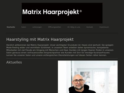 Matrix Haarprojekt