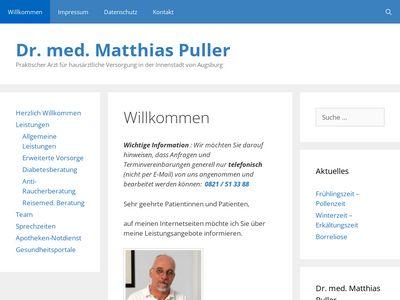 Dr.med. Matthias Puller Praktischer Arzt