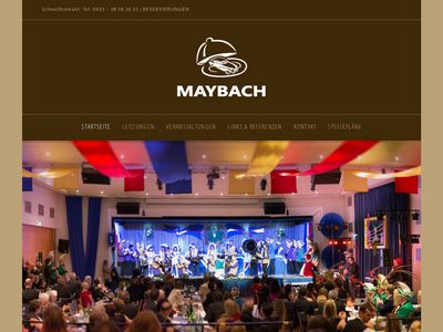Maybach Restaurant, Bar & Catering
