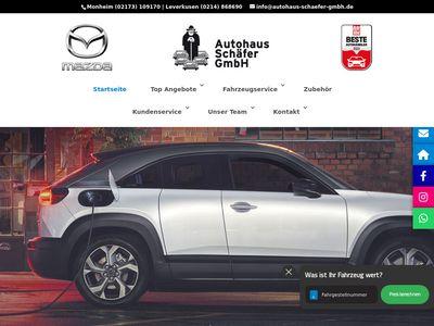 Mazda - Autohaus Schäfer GmbH