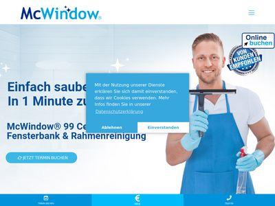 McWindow - Einfach saubere Fenster