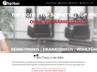Top Hair - Mein Friseur - Salon - Coiffeur