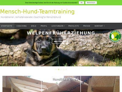 Mensch Hund Teamtraining
