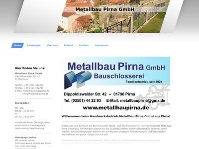 Metallbau Pirna GmbH