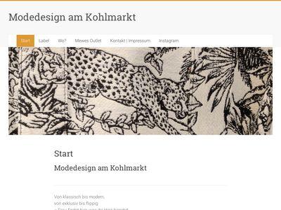 Modedesign am Kohlmarkt GmbH