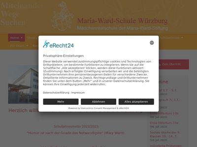 Maria-ward schule würzburg