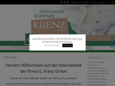Natursteine & Grabmale G. Krenz GmbH