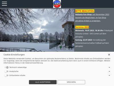 """NDTSV Holsatia Vereinsheim """"bei Carmen"""