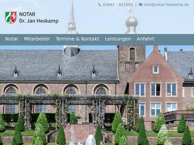 Notar Dr. Jan Heskamp