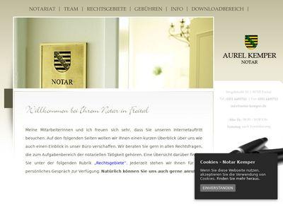 Aurel Kemper Notar