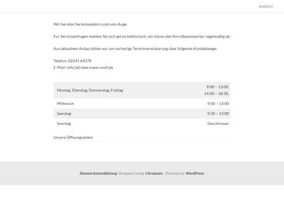Optik Obermann-Moll