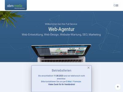 OBM Media Webdesign & Internet Solutions