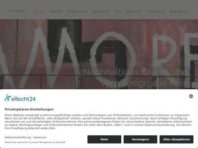 Grafik und Webdesign aus Köln: odecologne.de