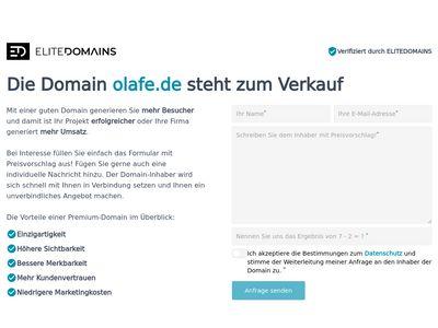Olafe Haare und Makeup