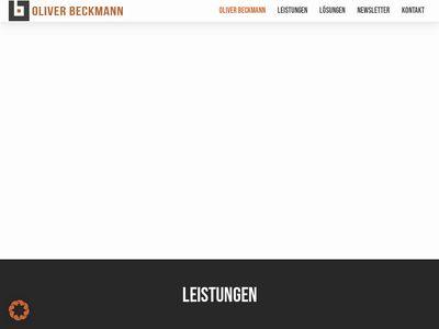 Oliver Beckmann - Fotografie