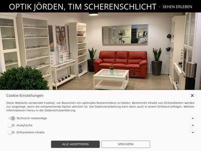 Optik Jörden, Tim Scherenschlicht