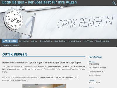 Bergen Optik