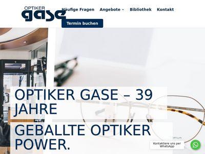 Optiker Gase