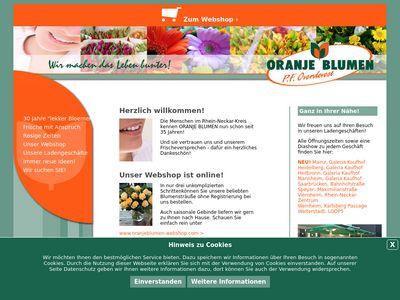 Oranje Blumen P.F. Overdevest GmbH